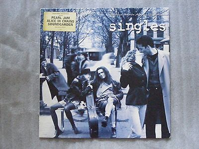 Singles Seattle Grunge Pearl Jam Alice in Chains 1992 Vinyl LP SUPERB COPY