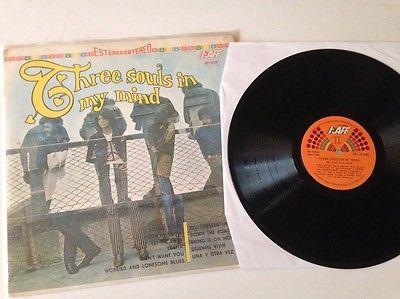 Three souls in my mind same 1971 Original 6 star pokora lp