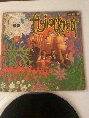 Flying Karpet same 1969 Original 1st press 6 star pokora Monster psych lp