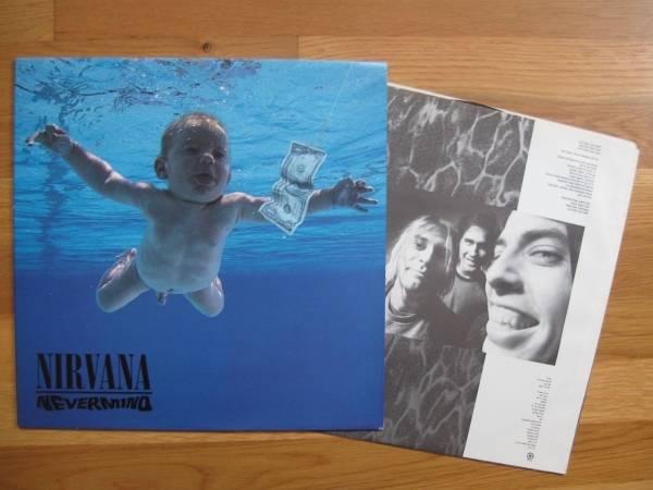 NIRVANA Nevermind LP 1991 GRUNGE Punk Classic ORIGINAL Issue SUB POP ex  ex