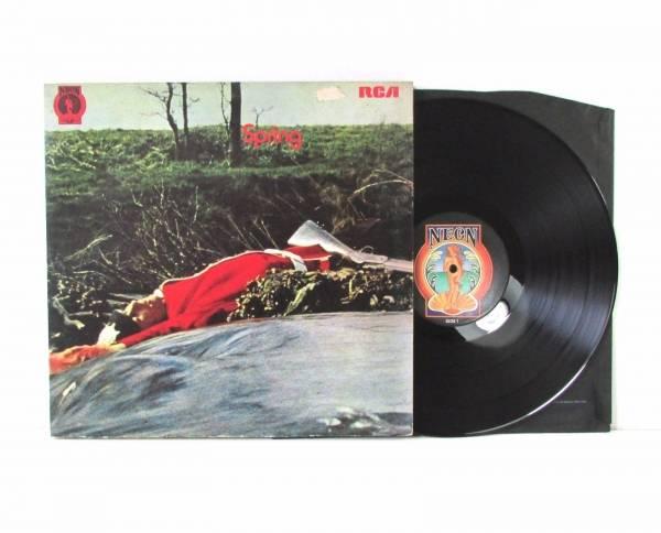 SPRING S T LP NEON NE6 1971 UK 1st Press Rare Prog Rock Holy Grail Superb Audio