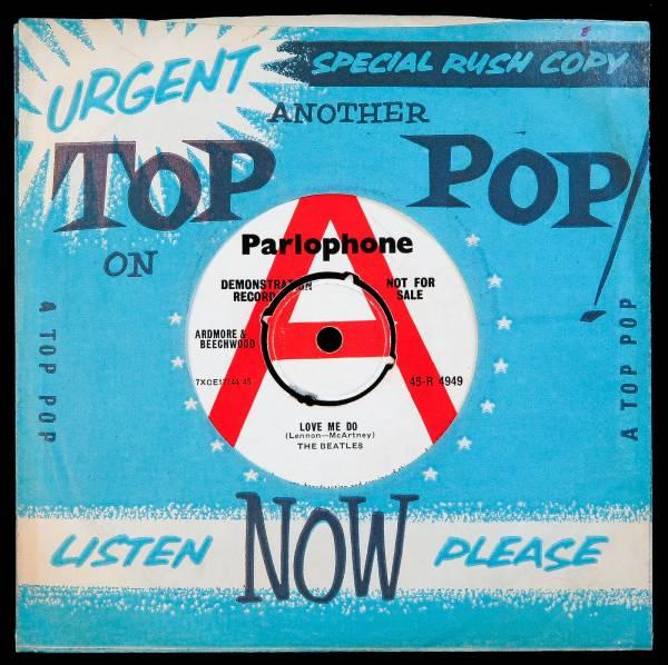 The Beatles   Love Me Do   Genuine UK 1962 Parlophone  DEMO  45   1 of 250 Made