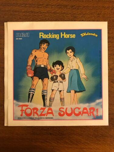 Rocking Horse CORRI COME IL VENTO KIKI   FORZA SUGAR  45giri 7    1983 NM NM Sugar