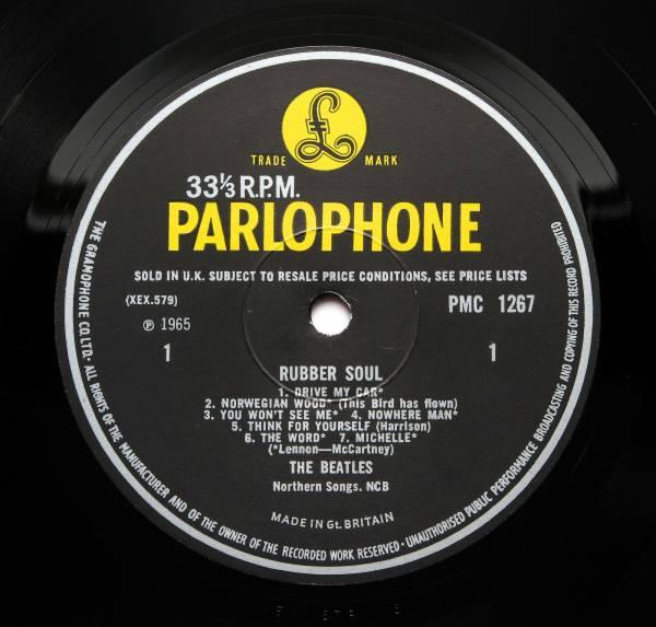 The Beatles   Rubber Soul   UK 1966  5  5  MONO  LP  AUDIOPHILE  Pressing