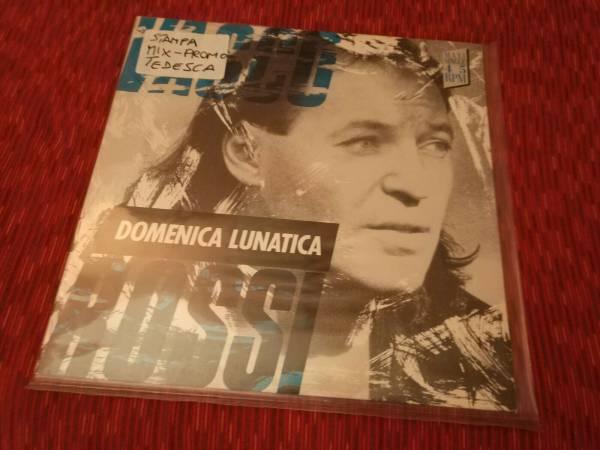 Vasco Rossi   MAXI LP Domenica Lunatica  Vivere Senza Te   Stampa estera RAROOOO