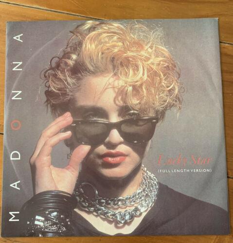 Madonna      Lucky Star 12  Vinyl Sunglasses Sleeve   Rare 1983 First UK Release