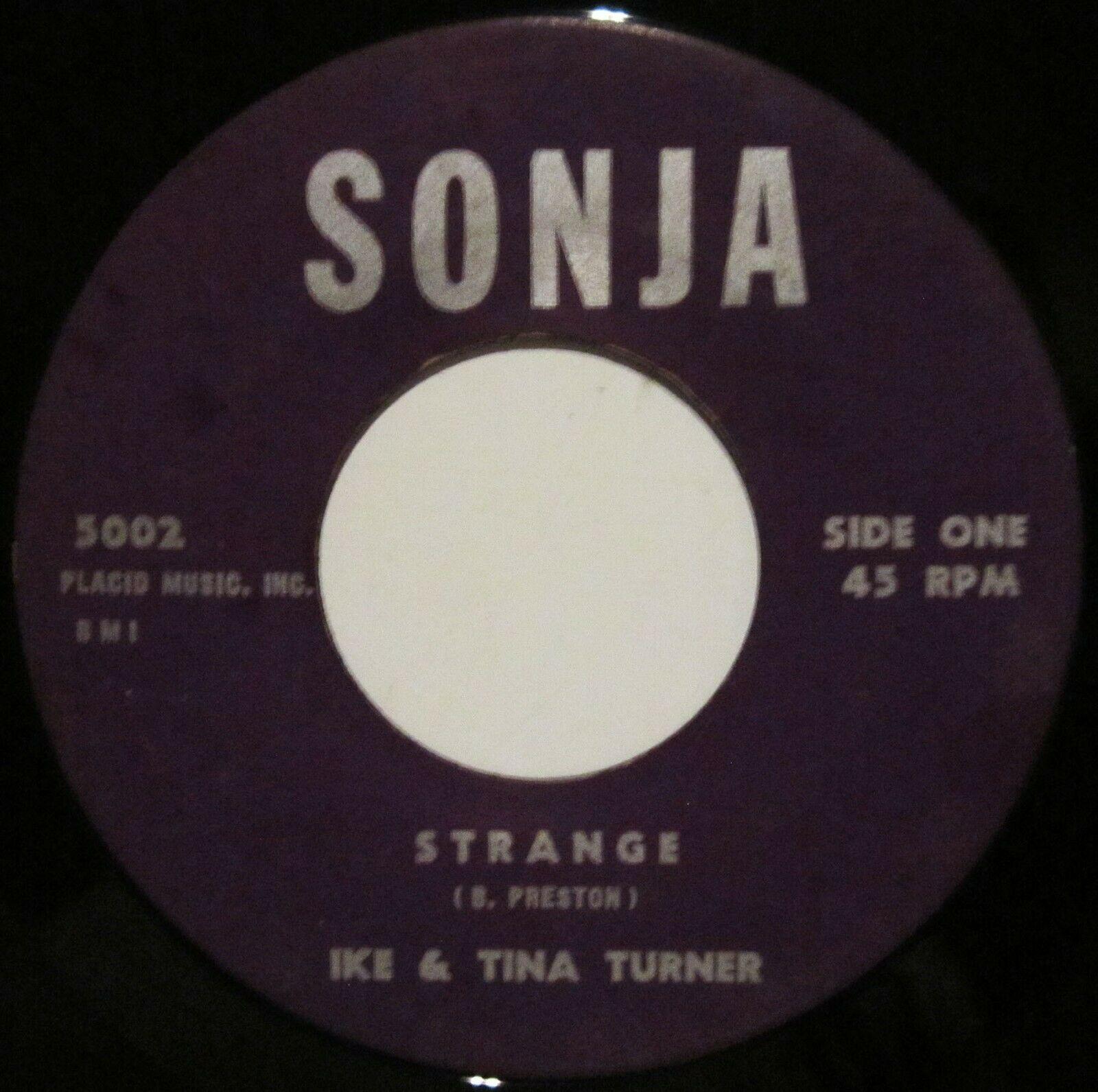 Ike   Tina Turner  Strange  RARE Northern Soul 45 on Sonja