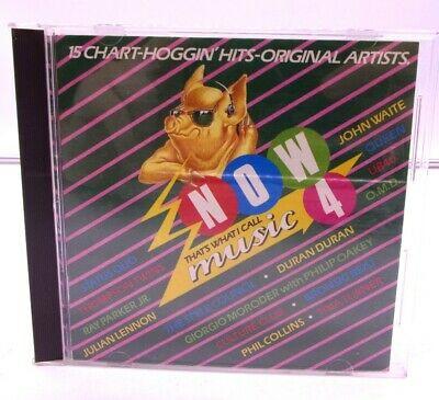 Original 1984 Now 4 CD First Release Date ALS