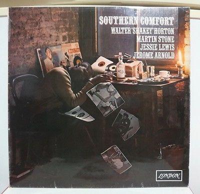 WALTER SHAKEY HORTON   SOUTHERN COMFORT  RARE UK ORIG  LONDON LP PSYCH BLUES EX