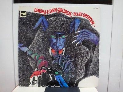 BLUES CREATION   DEMON   ELEVEN CHILDREN  RARE JAPAN ORIG  LP PSYCH BLUES EX