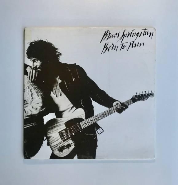 Bruce Springsteen        Born To Run Rare SCRIPT COVER  Promo LP NM 1975