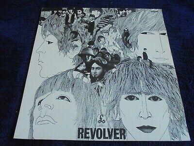 The Beatles   Revolver 1966 UK LP PARLOPHONE MONO WITHDRAWN 1st 606 1 DECCA EX