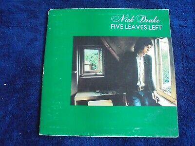Nick Drake   Five Leaves Left 1969 UK LP PINK ISLAND 1st