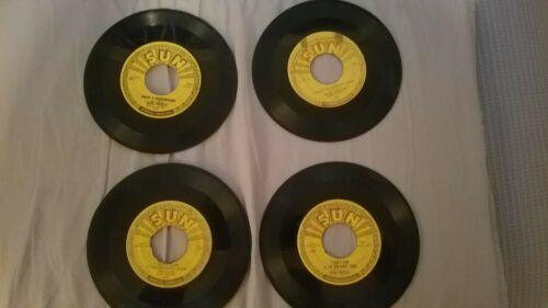 Elvis Presley Original Sun 45 lot 4  215 217 210x2 Milkcow Blues Lets play house