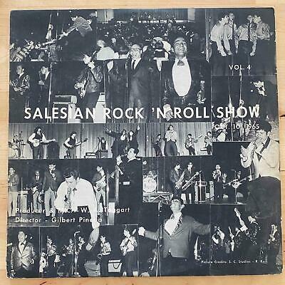 SALESIAN ROCK  N ROLL SHOW LP Vol  4 Ultra Rare Chicano Garage Soul East LA