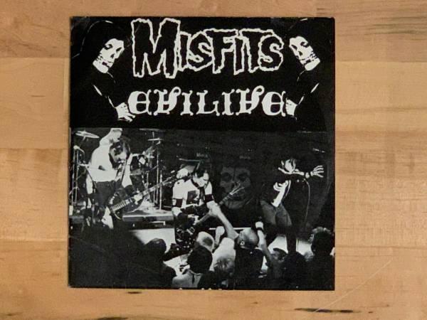 Misfits Evilive 7  Fiend Club Num Edition Original 1982 Plan 9 PL1019 Samhain