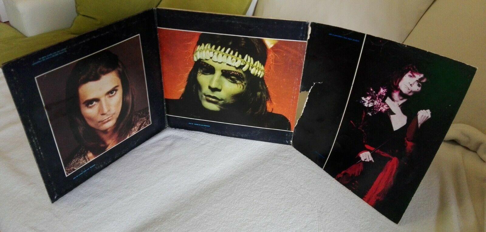 RENATO ZERO RARO LP  NO MAMMA NO  PRIMA STAMPA DEL 1973  DPSL 10604