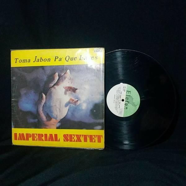 IMPERIAL SEXTET   TOMA JABON PA  QUE LAVES  ELEFON Guaguanco Salsa LP