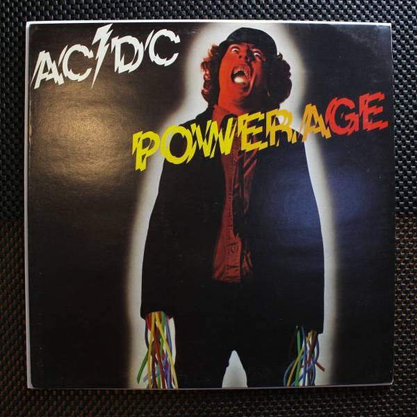 AC DC   Powerage LP Hard Rock
