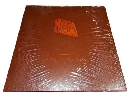 Pearl Jam Benaroya Hall Vinyl Sealed