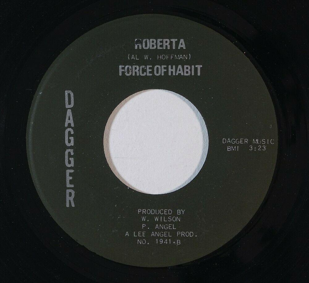 Sweet Soul Funk 45 FORCE OF HABIT Roberta String Bikini on Dagger