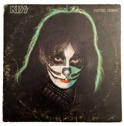 Kiss  Peter Criss  Green Vinyl El Salvador Boni Discos