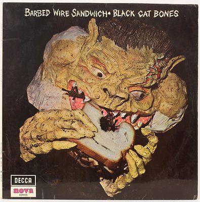 Barbed Wire Sandwich   Black Cat Bones Vinyl Record