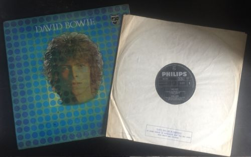 David Bowie Very Rare Philips 1st Pressing 1969 Space Oddity LP