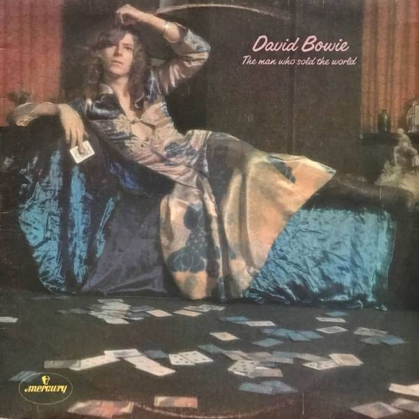 DAVID BOWIE  THE MAN WHO SOLD THE WORLD  LP  1ST PRESS  OZ COVER