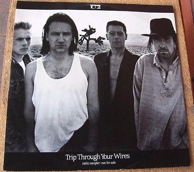 U2  Trip Through Your Wires Rare Radio Sampler promo 12   Australian Vinyl