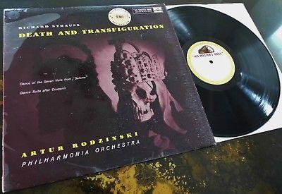 Strauss  Death   Transfiguration   Artur Rodzinski   HMV ASD 270 ED1 LP