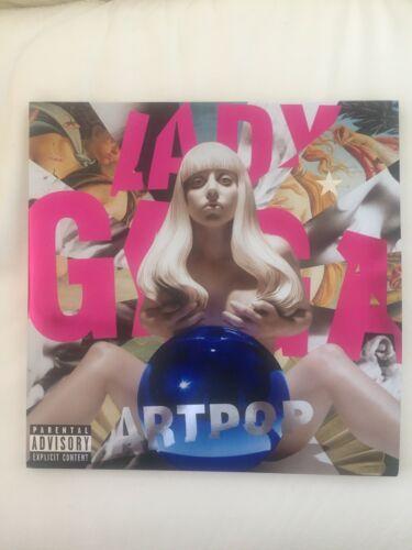 Lady gaga ARTPOP VINYL 2Lp First Press Glossy Metal Cover with Insert mint RARE