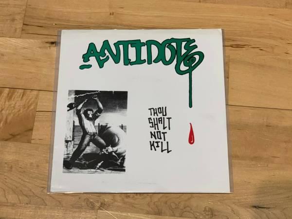 Antidote Thou Shalt Not Kill 7  Original 1983 Urban Waste Cro Mags Misfits Punk