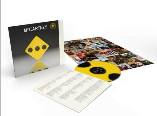 Paul McCartney III Third Man Records iii Yellow Vinyl LP 333 Made MINT SEALED