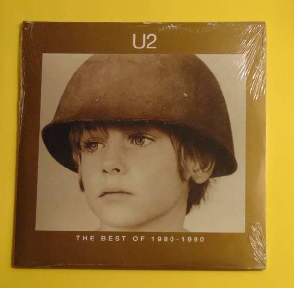 U2  THE BEST OF 1980 1990  VINILE 2 LP PRIMA STAMPA FIRST PRESS 1998 SIGILLATO