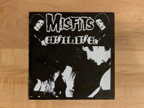 Misfits Evilive 7  Original Press Orange Label 1982 Plan 9 PL1019 Samhain Danzig