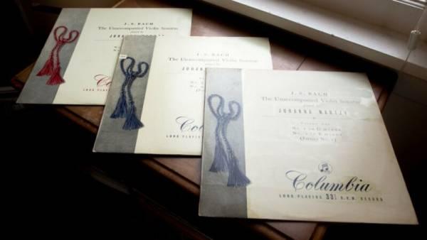 MARTZY   BACH Unaccompanied Violin Sonatas COLUMBIA 33CX 1286 88 B G ED1 3LP set