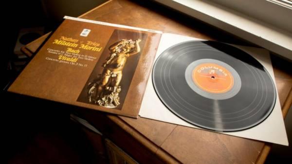 NATHAN MILSTEIN   ERICA MORINI Double Concerto COLUMBIA SAX 2579 5 7 ED1