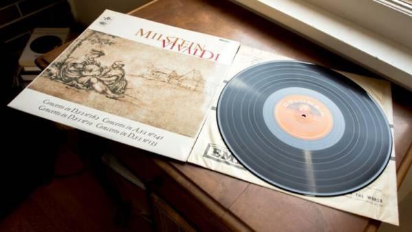 NATHAN MILSTEIN   VIVALDI Four Concerti For Violin COLUMBIA SAX 5264 47 45 ED1