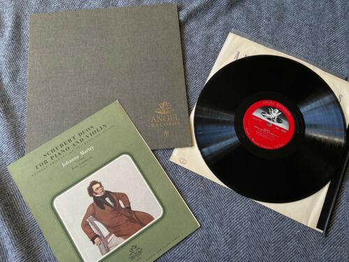 RARE Angel 35366 Martzy Schubert Violin works 3 First UK pressing mono LP EX NM