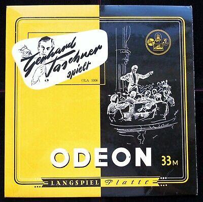 Violin Recital   Gerhard Taschner   Original Odeon OLA 1006 Mono 10  ED1 LP