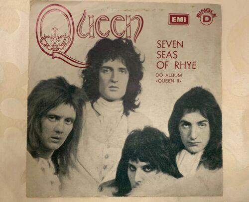 Queen Seven Seas Of Rhye 7    Vinyl ULTRA RARE PORTUGAL