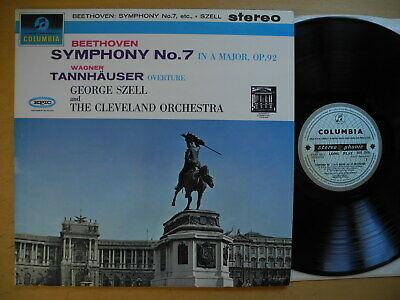 BEETHOVEN Symphony No 7 Szell LP 1964 UK Columbia SAX 2510 ed1 EX  rare