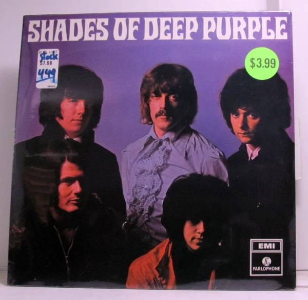 Deep Purple        Shades Of Deep Purple SEALED 1st Pressing 1968 UK LP Rainbow