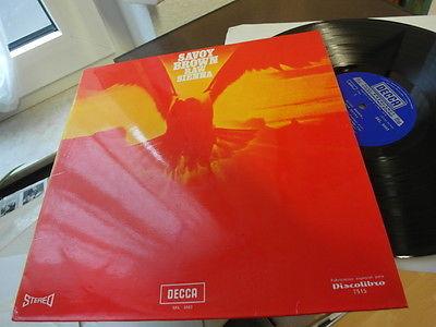 SAVOY BROWN Raw Sienna 1970 BLUES PSYCH LP POKORA MINT