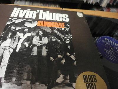 LIVIN BLUES BAMBOOZLE LP 1972 MINT DUTCH PROG  MONSTER