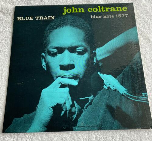 JOHN COLTRANE BLUE TRAIN LP BLUE NOTE 1577 EAR RVG MONO VINYL RAR NO R NO INC
