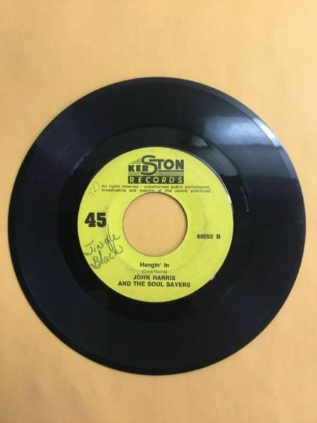 John Harris and The Soul Sayers MEGA RARE Northern Soul 45 Hangin In