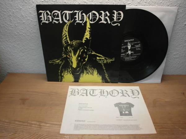 BATHORY Bathory LP MINT  1984 YELLOW GOAT 1st press SWEDEN Black Metal