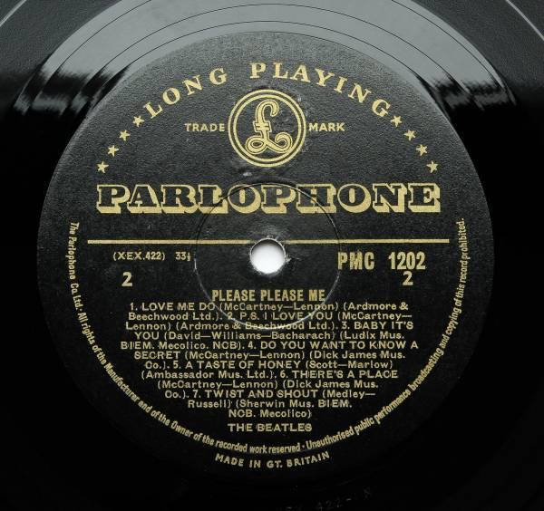 The Beatles   Please  Please Me   UK 1963 1st  GOLD  Label Parlophone LP